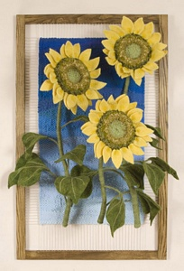 3     Sunflowers by Green Gallery     Artist Martina Celerin