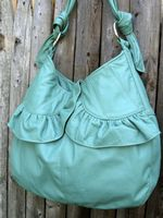 Aqua Bag by Anita Hopper