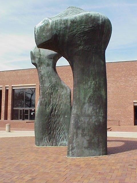 Henry Moore's Larger Arch Columbus Indiana