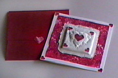 Cast Valentine and Envelope