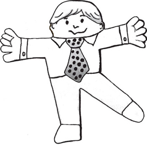 flat stanley coloring pages - photo#17