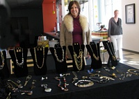 Lori Henderson's Jewelry Display