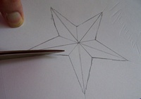Cutting out the star